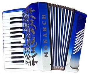 48 Bass Blue White